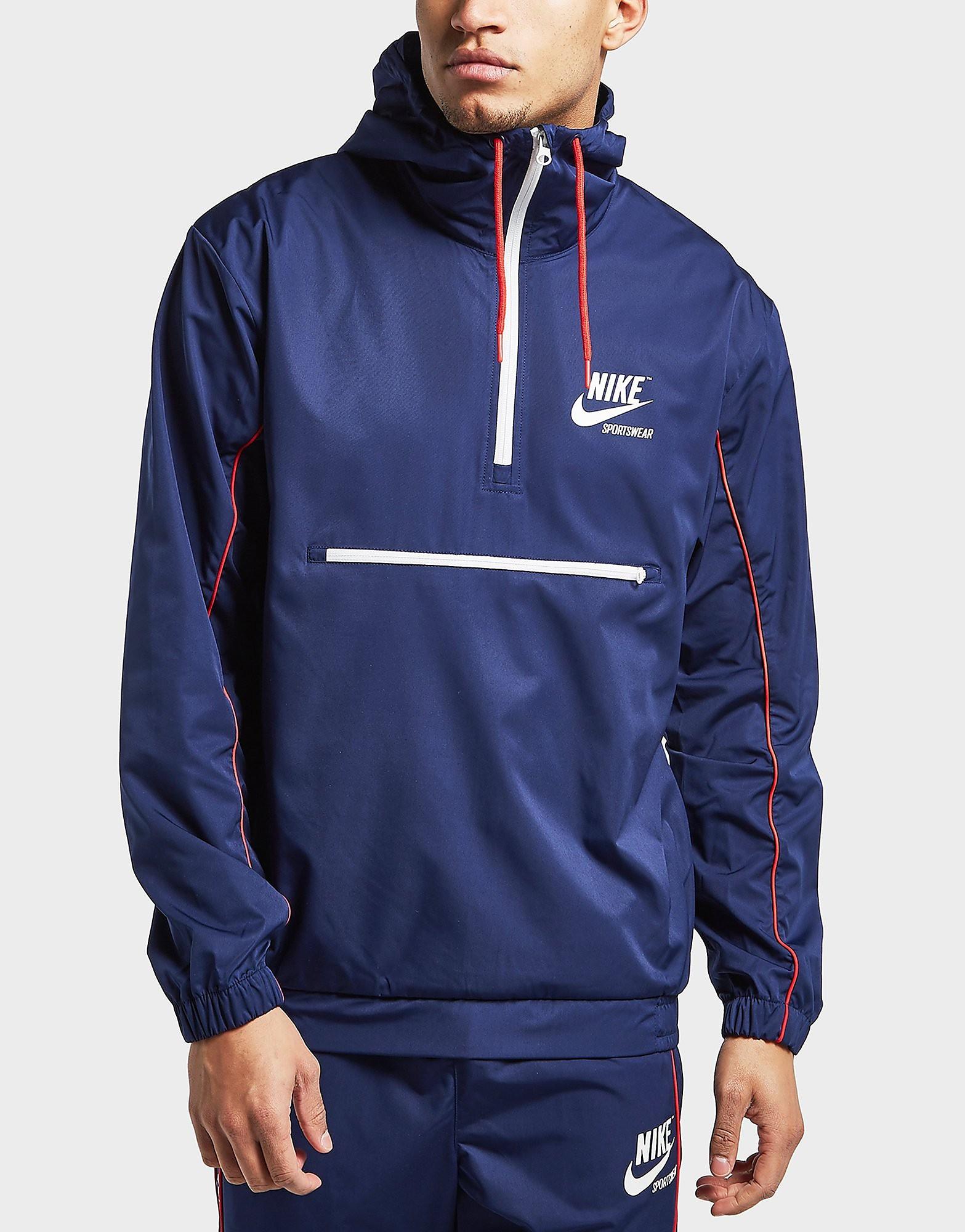 Nike Archive Woven Half Zip Jacket