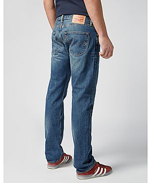 Levis 501 Straight Fit Hook Jeans