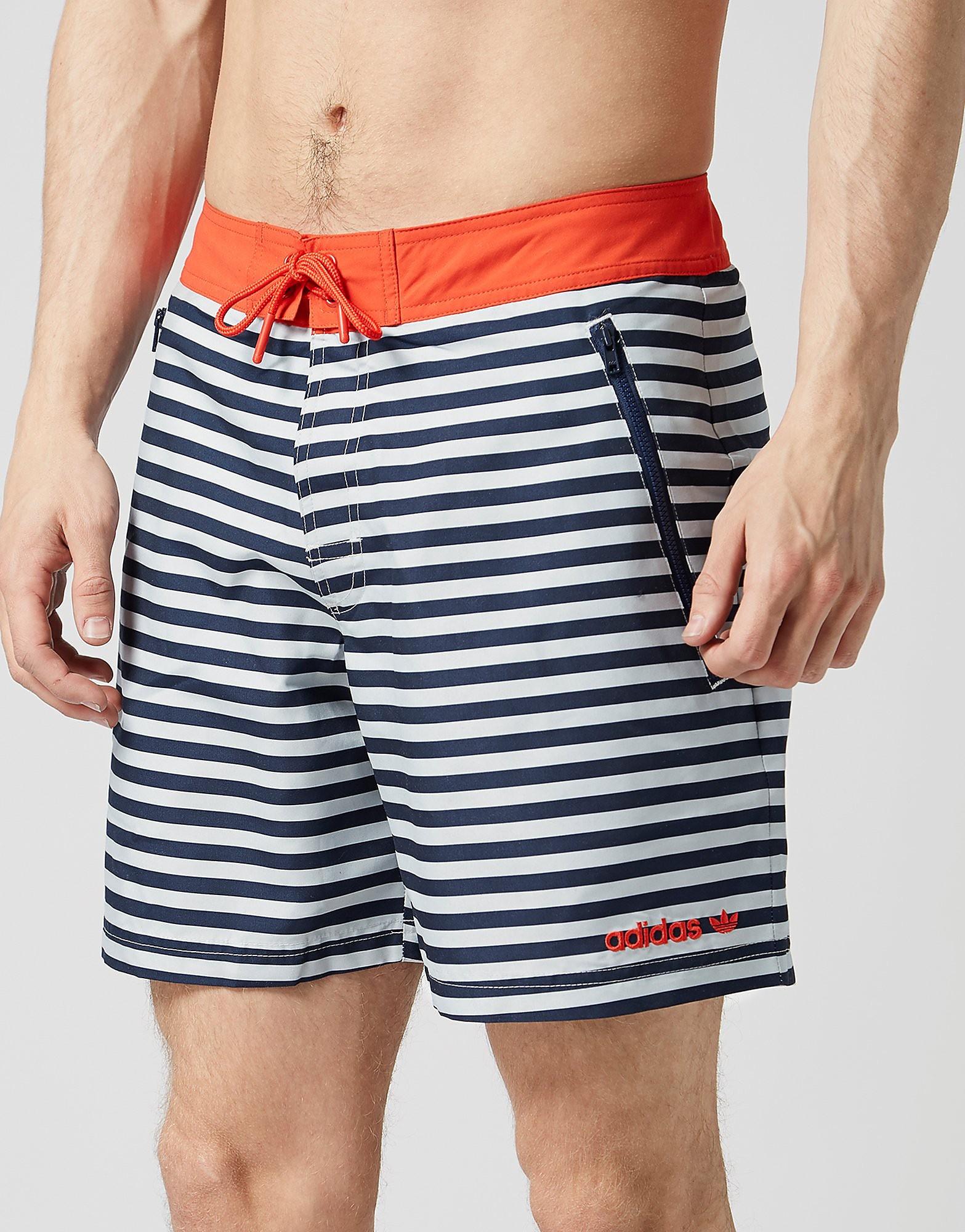 adidas Originals Stripe Swim Shorts