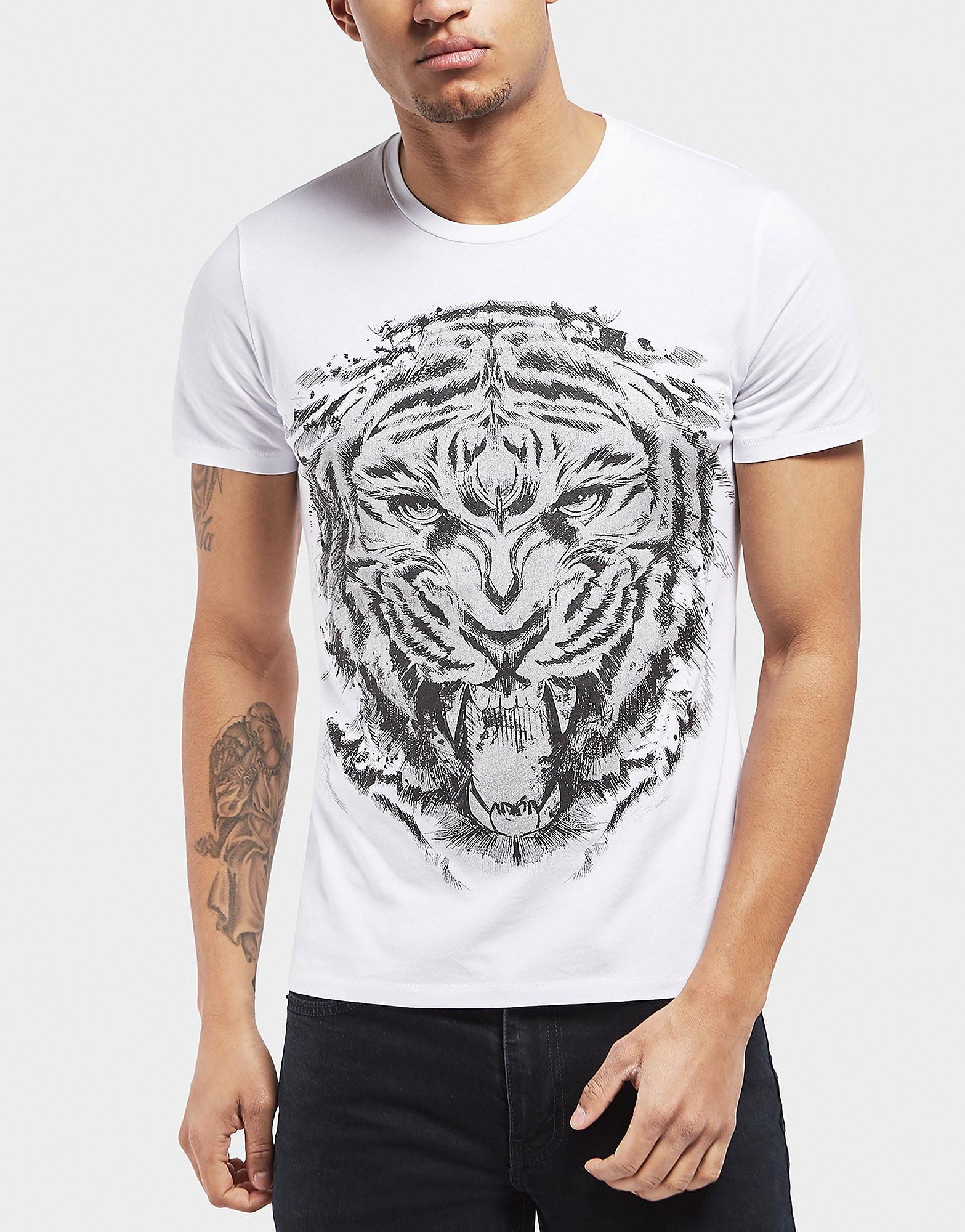 Just Cavalli Tiger Roar Short Sleeve T-Shirt