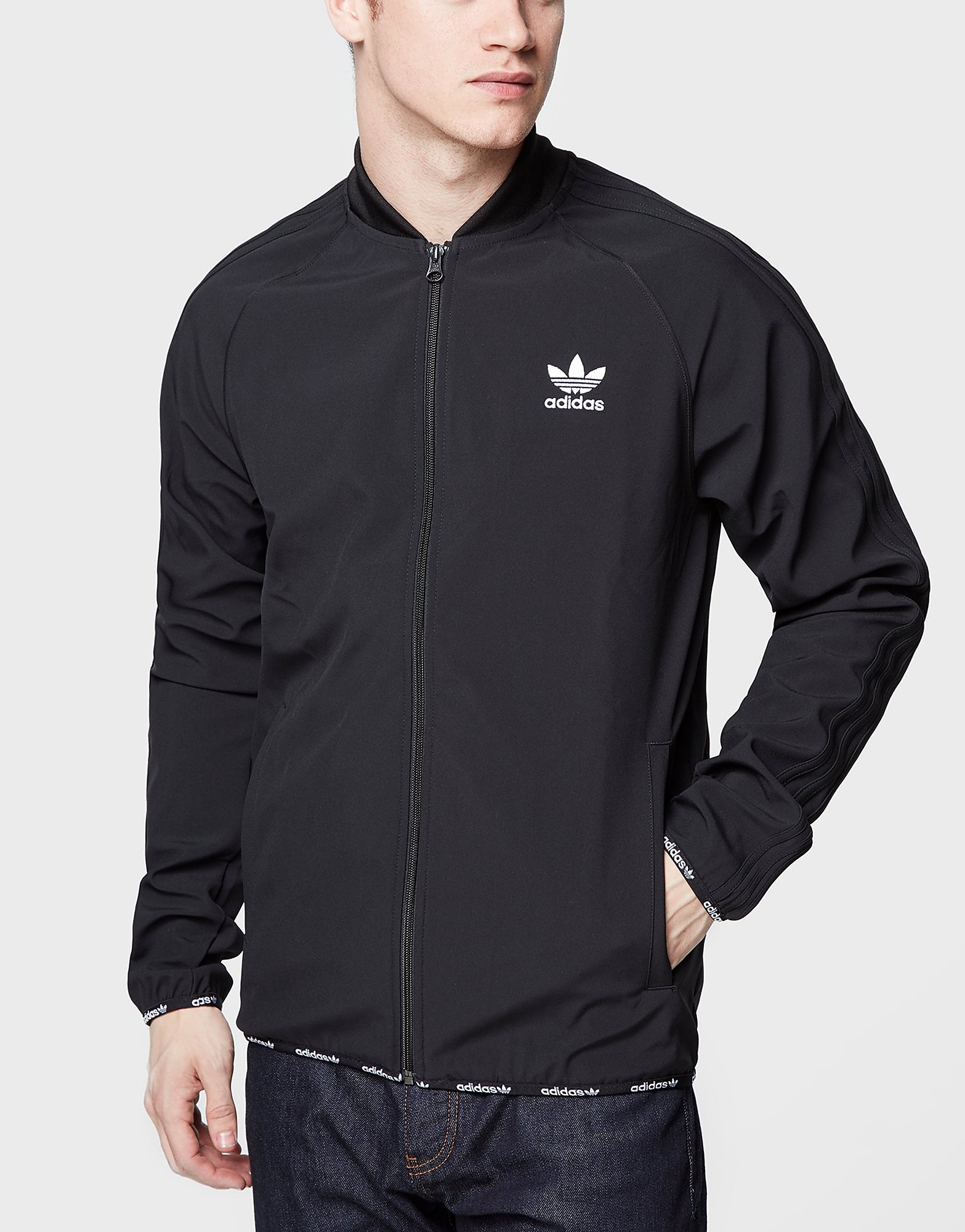 adidas Originals Superstar 2.0 Track Top  Black Black