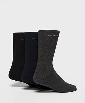 BOSS Three Pack Socks