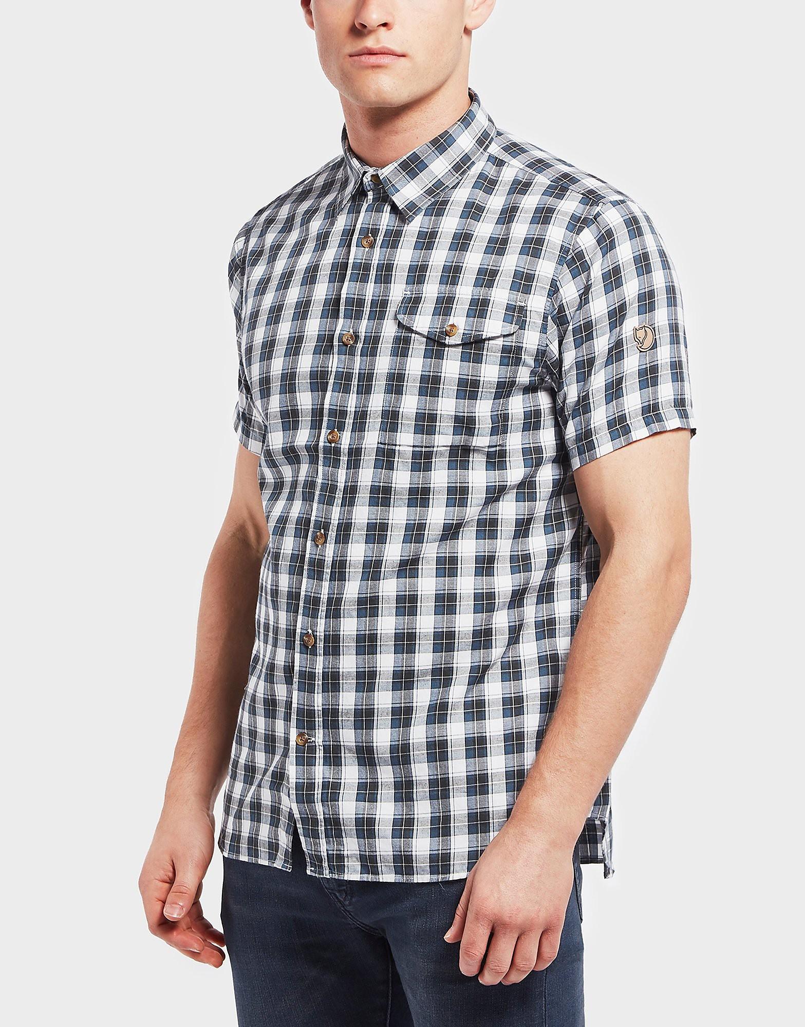 Fjallraven Singi Short Sleeve Check Shirt
