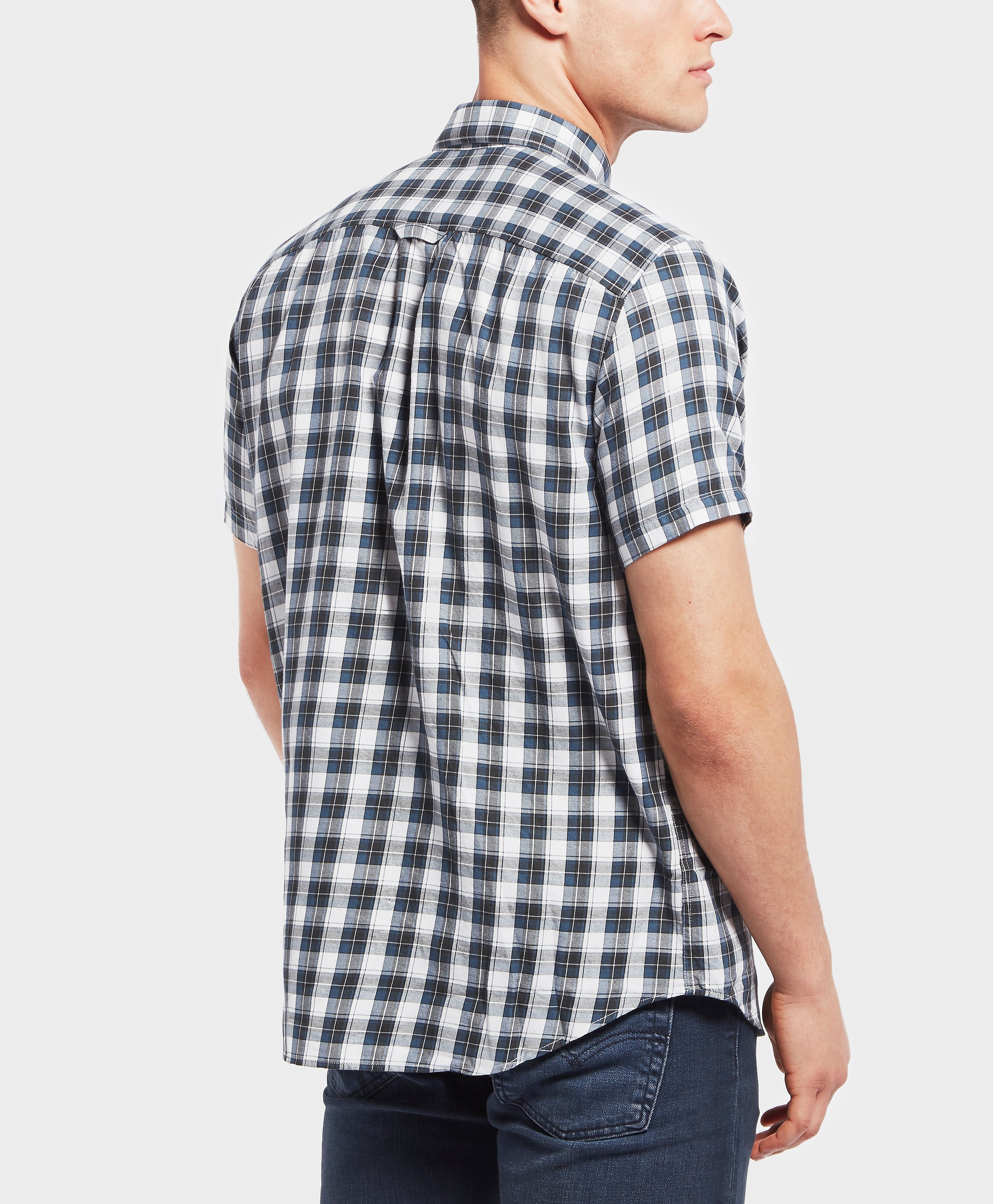 Fjallraven Singi Short Sleeve Check Shirt