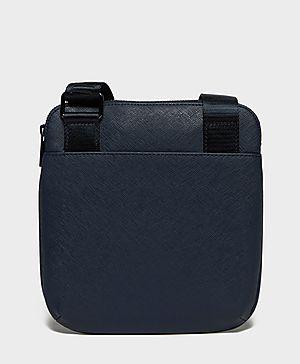 Armani Jeans Saffinao Leather Stash Bag