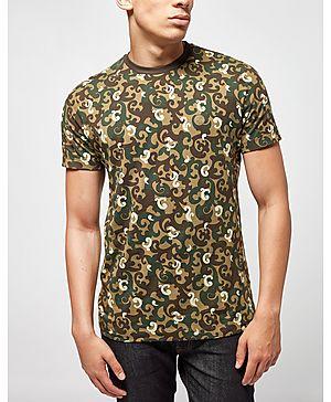 Pretty Green Riley Aop Camo T-Shirt