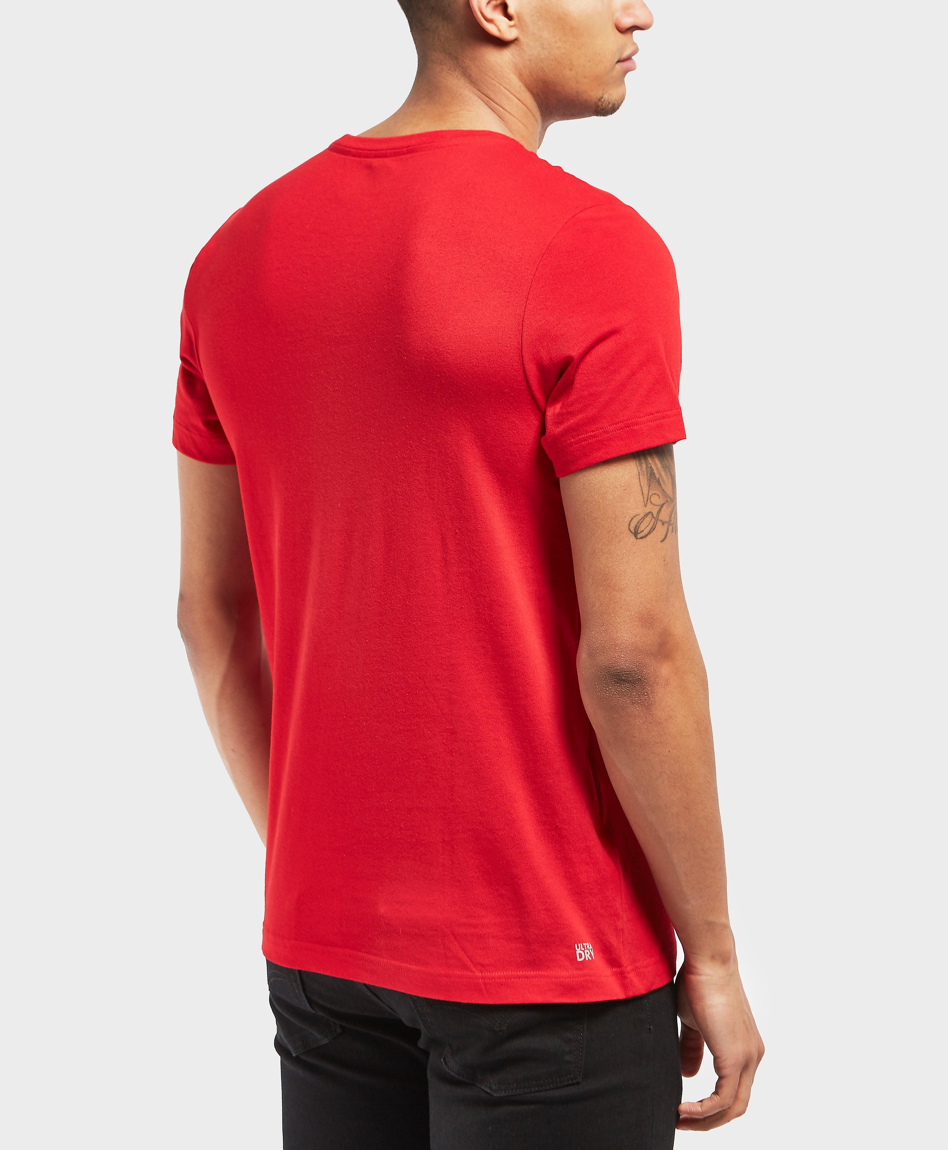 Lacoste Large Croc Short Sleeve T-Shirt