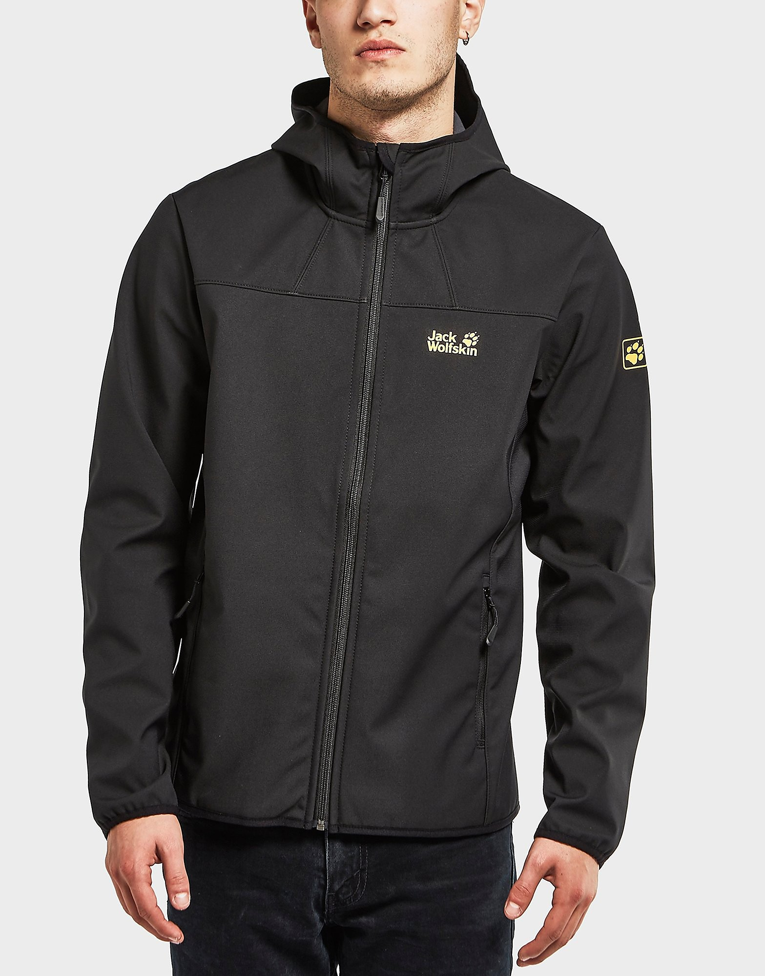 Jack Wolfskin Northern Point Shell Lightweight Jacket  Black Black