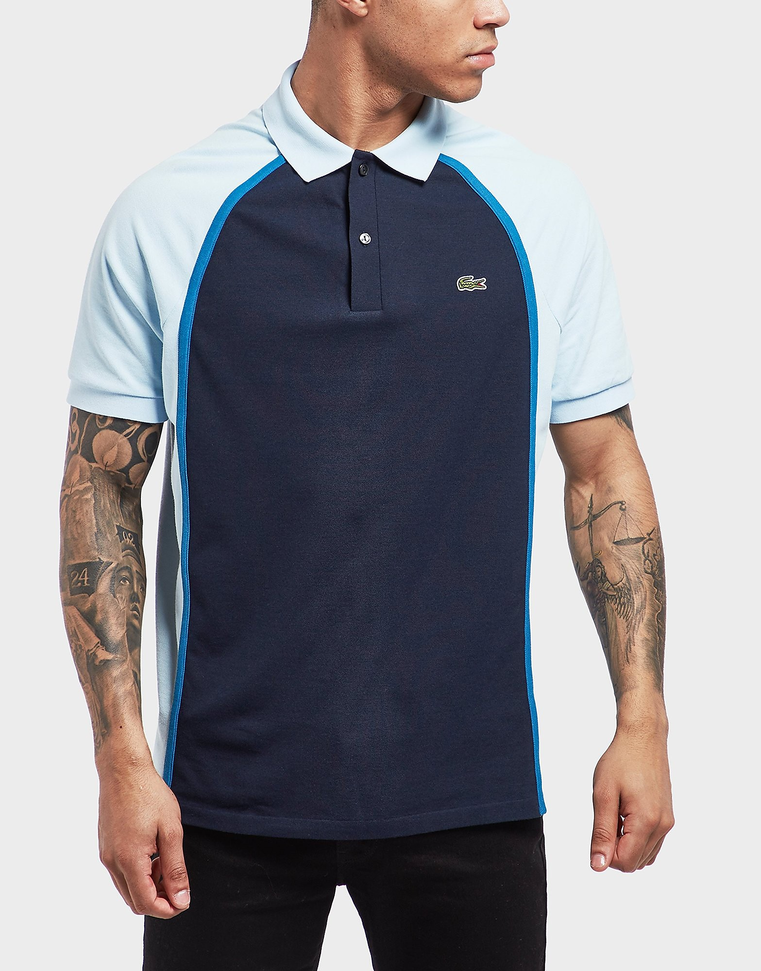 Lacoste Colour Block Short Sleeve Polo Shirt
