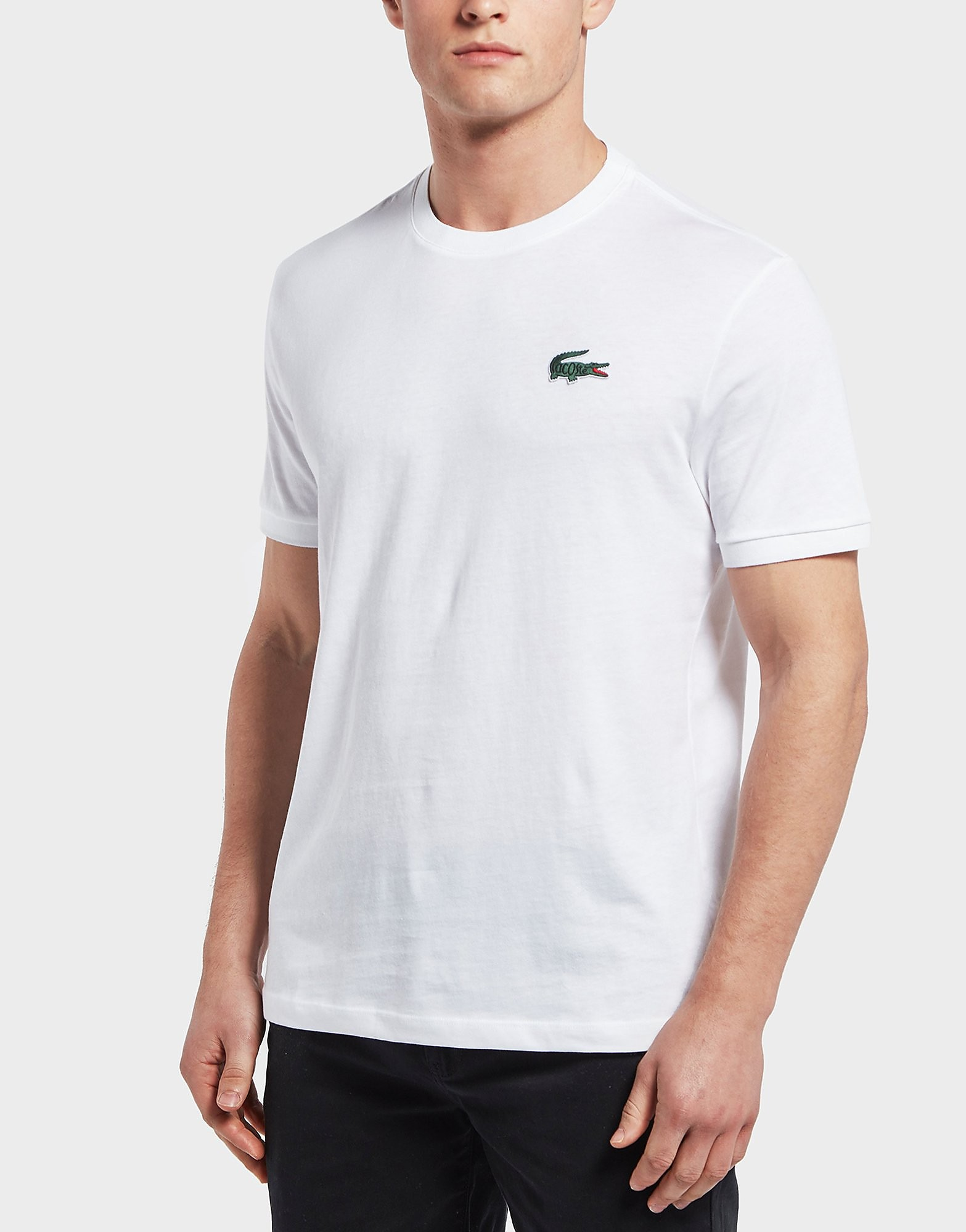 Lacoste Big Croc Logo Short Sleeve T-Shirt