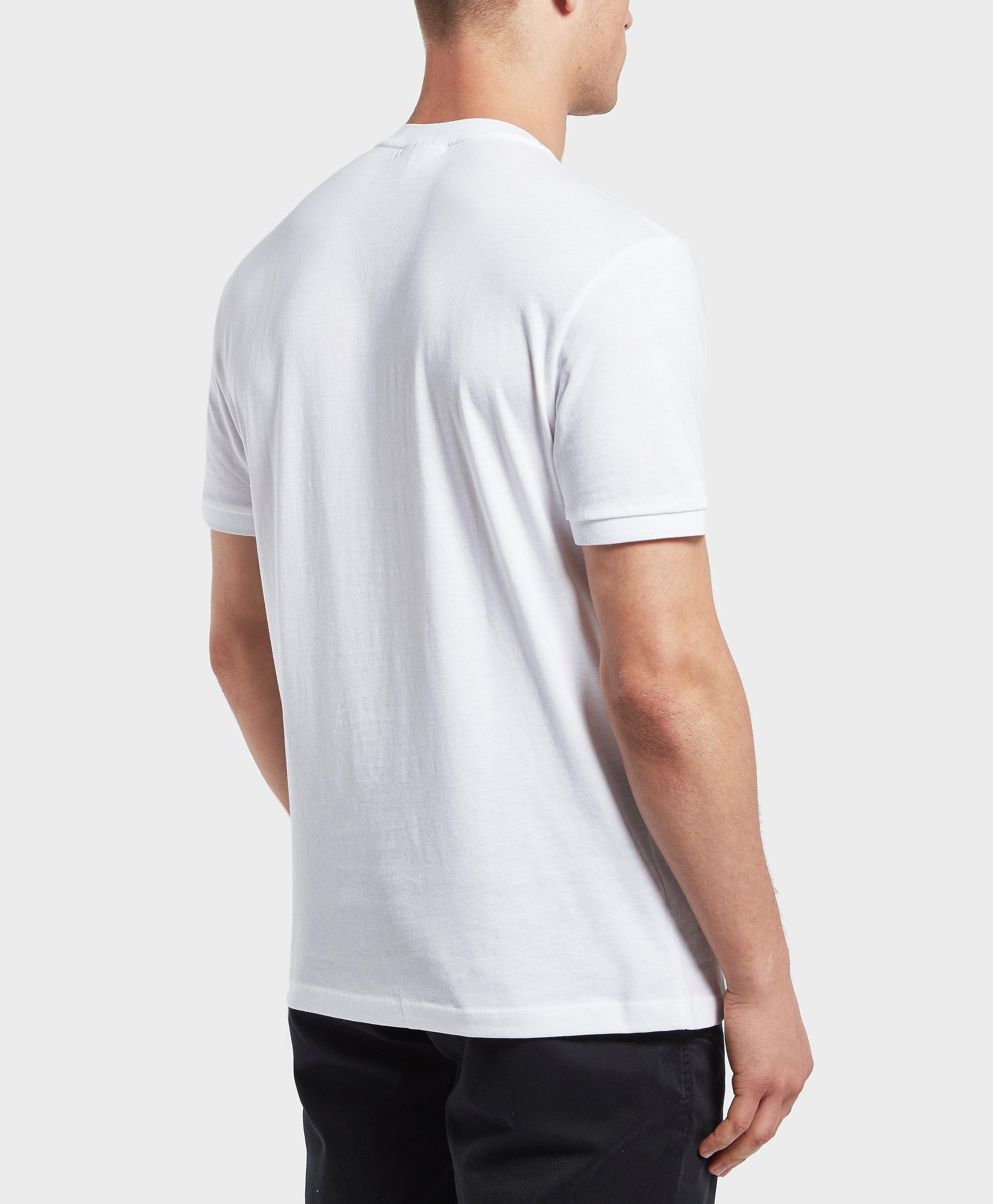 Lacoste Big Croc Logo Short Sleeve T-Shirt