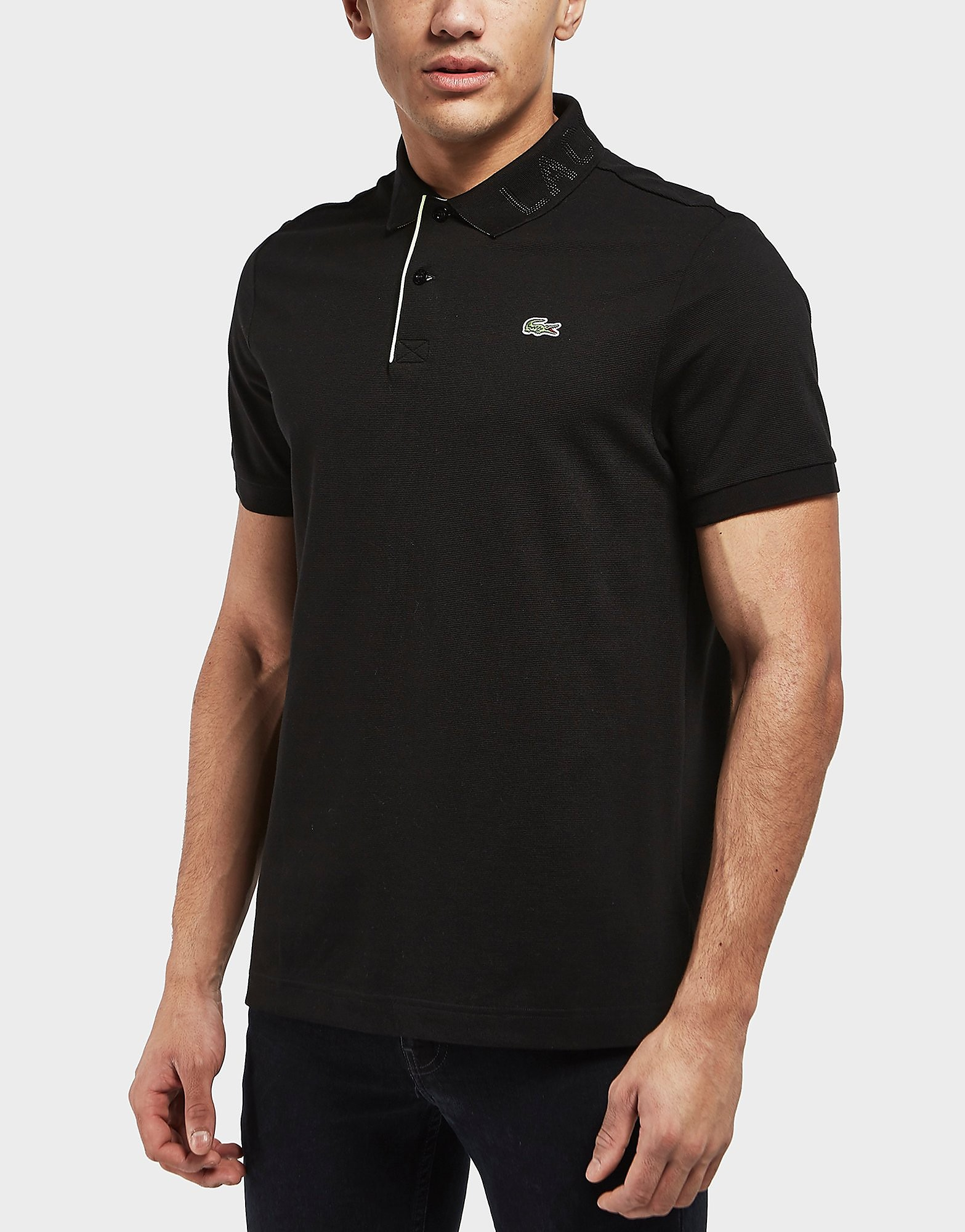 Lacoste Logo Collar Short Sleeve Polo Shirt