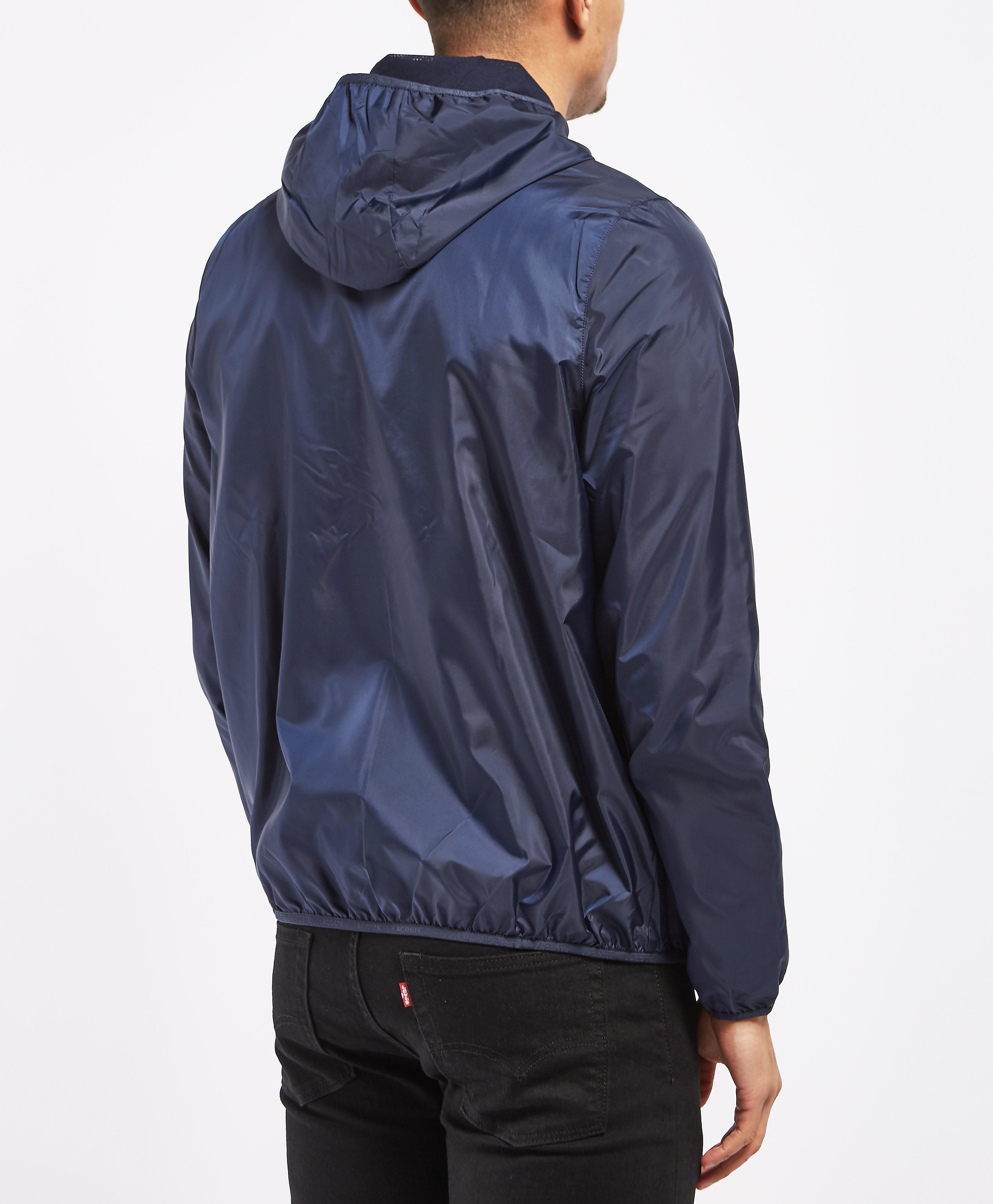 Lacoste Full Zip Hooded Bomber Jacket