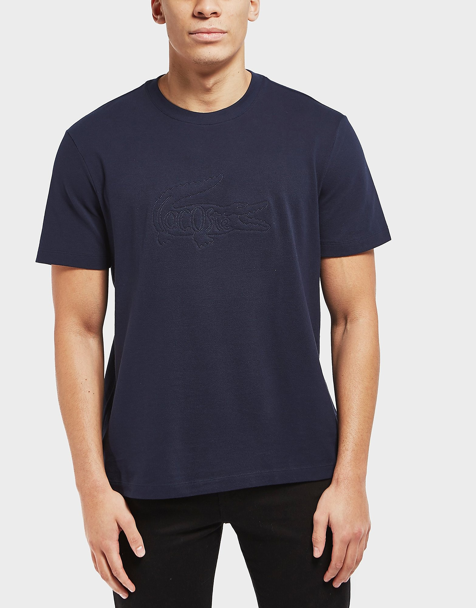 Lacoste Embroidered Logo Pique Short Sleeve T-Shirt