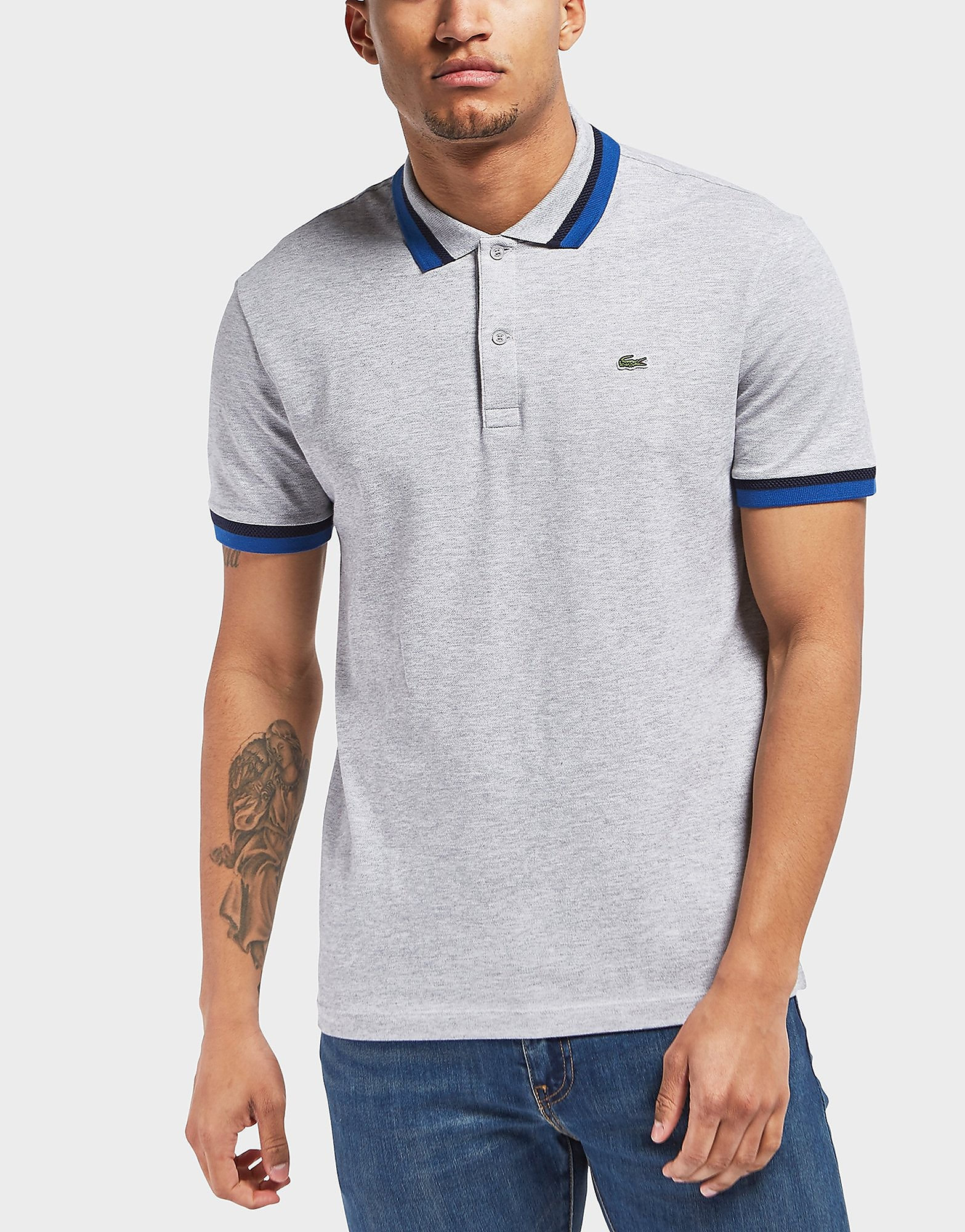 Lacoste Double Tipped Short Sleeve Polo Shirt