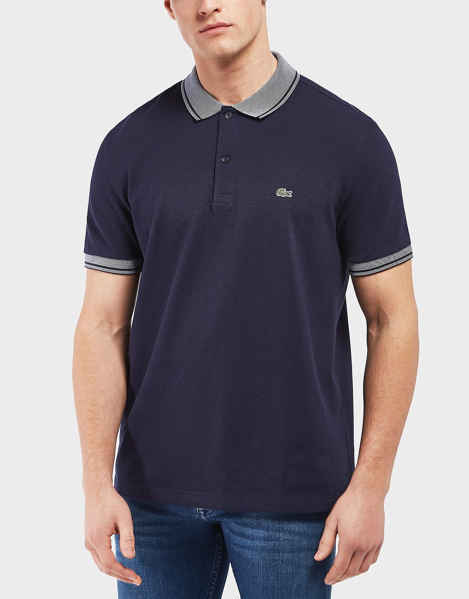 Lacoste Oxford Collar Short Sleeve Polo Shirt