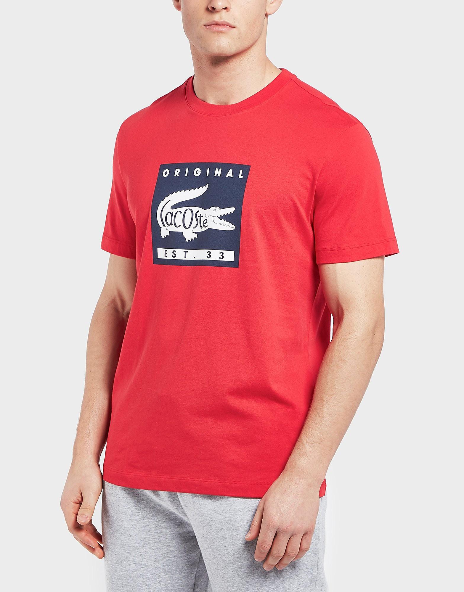 Lacoste Original Logo Short Sleeve T-Shirt