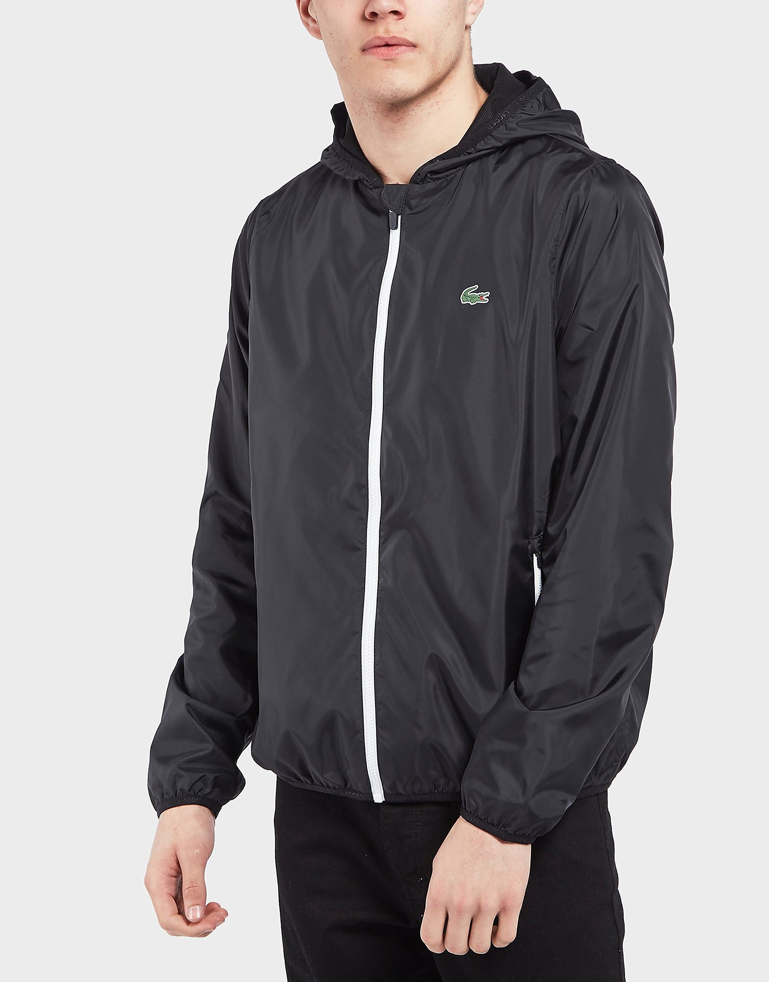 Lacoste Full Zip Hooded Bomber Jacket