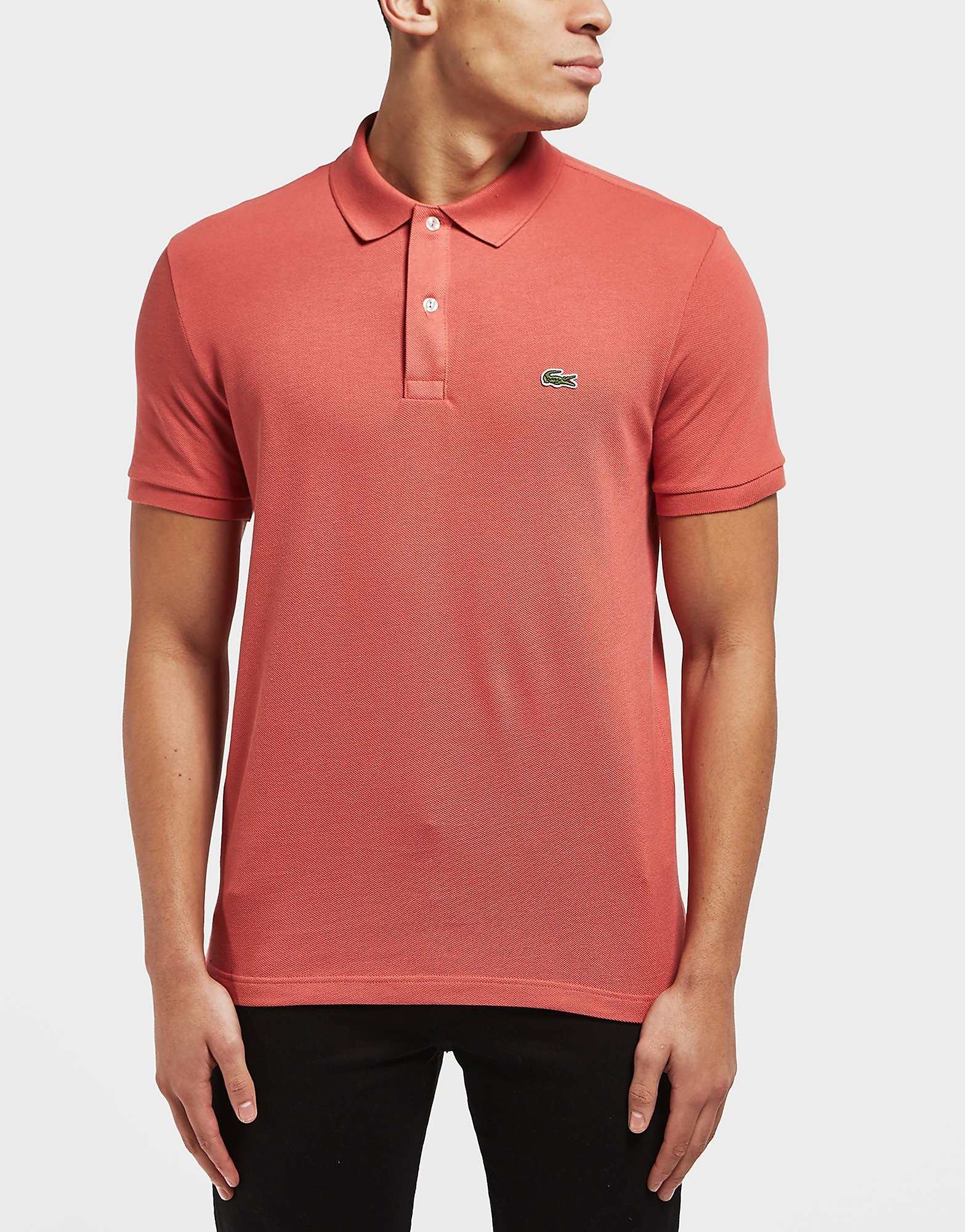 Lacoste Slim Short Sleeve Pique Polo Shirt
