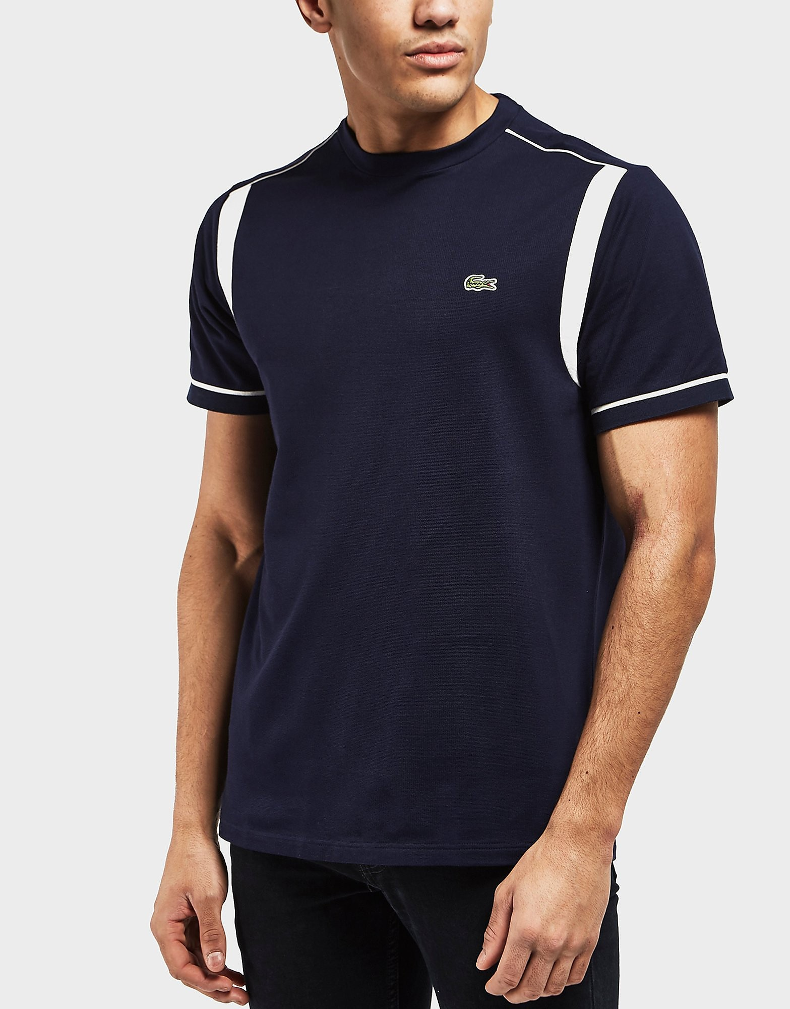 Lacoste Waffle Tipped Short Sleeve T-Shirt