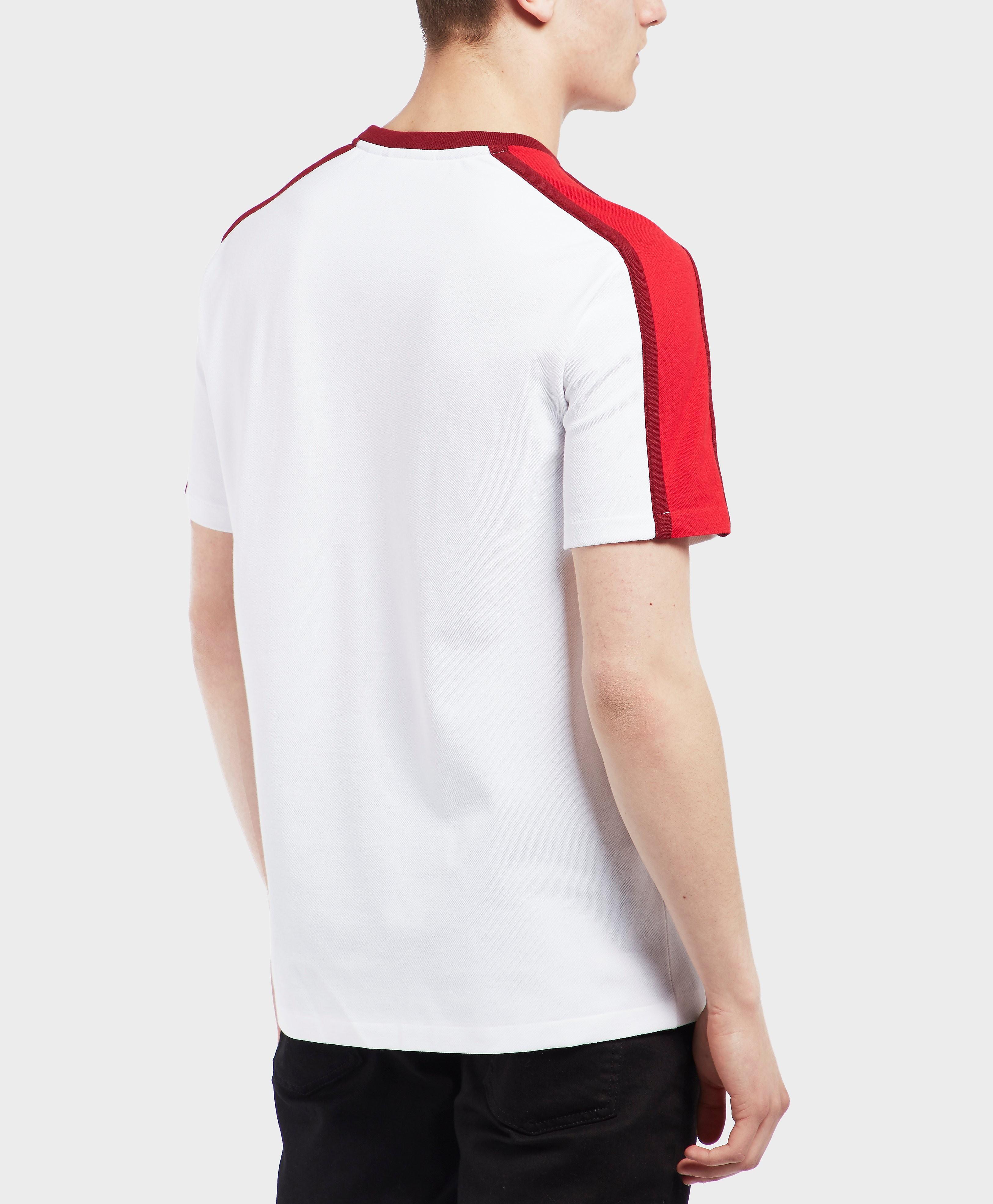 Lacoste Shoulder Block Short Sleeve T-Shirt