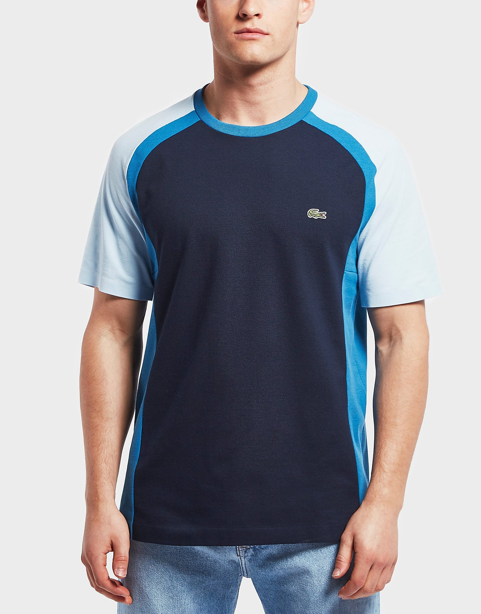Lacoste Colour Block Short Sleeve T-Shirt