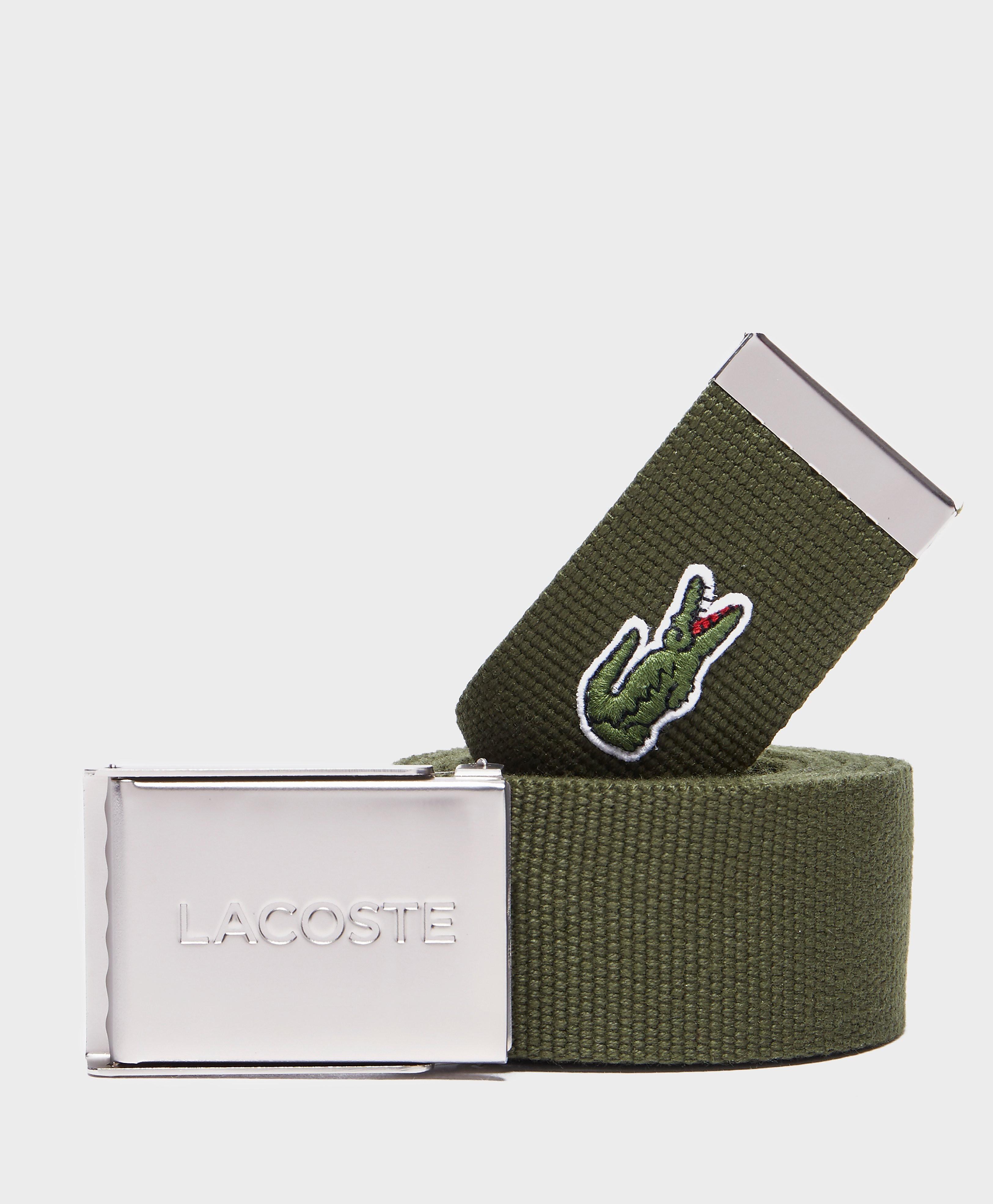 Lacoste Croc Belt