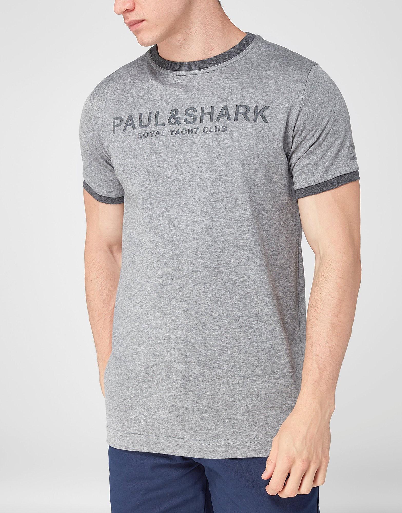 Paul and Shark Premium Crew T-Shirt