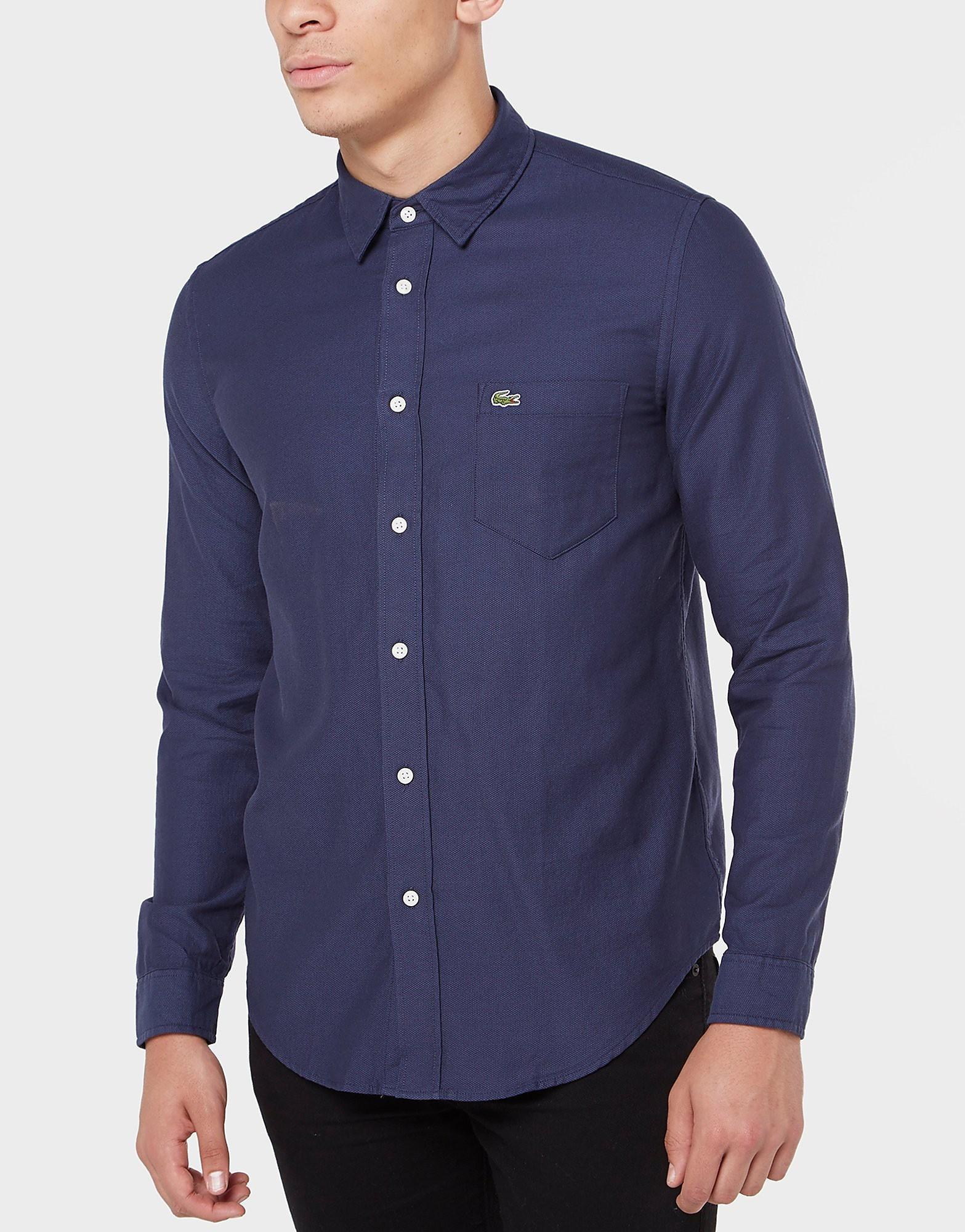 Lacoste Pique Long Sleeve Shirt