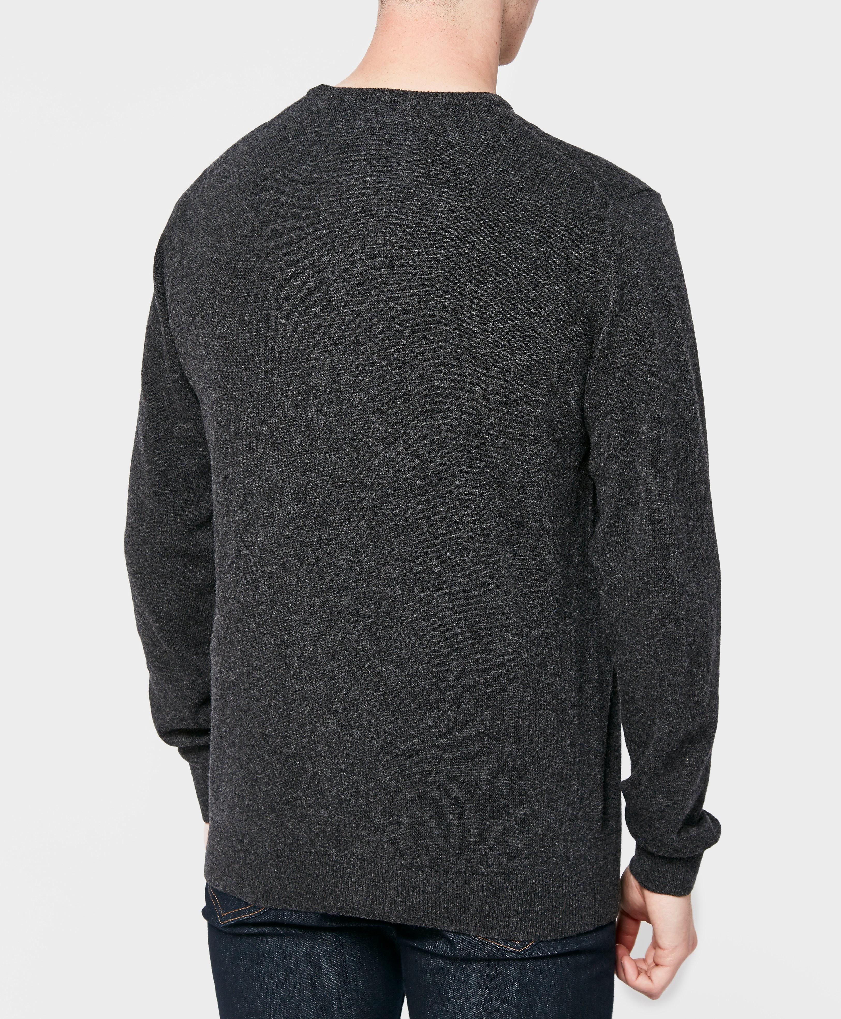 Lacoste Wool Crew Knit