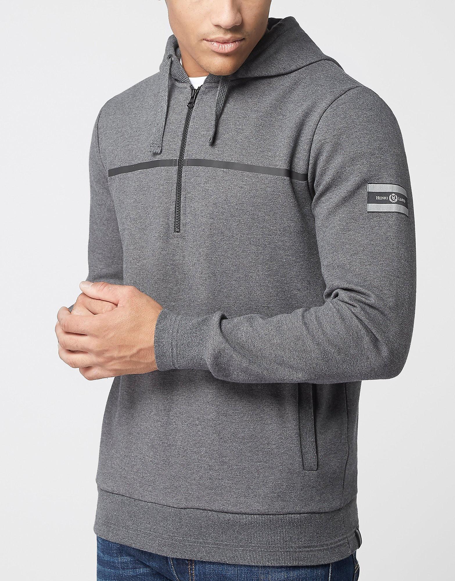 Henri Lloyd 1/2 Zip Hooded Sweatshirt