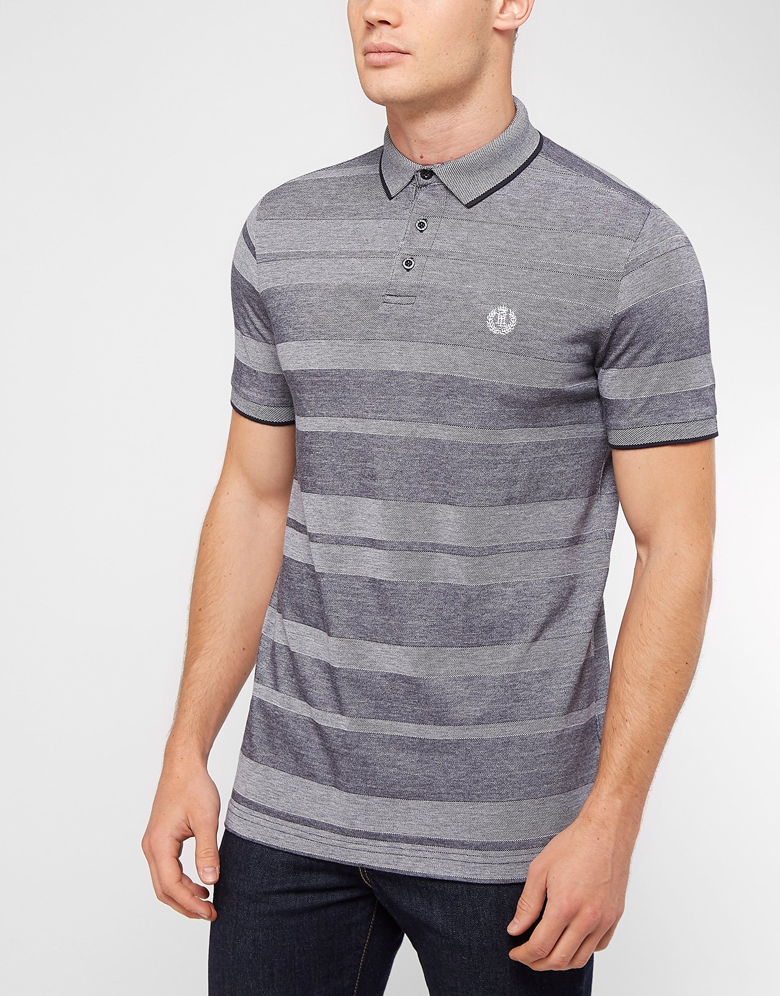 Henri Lloyd Pique Stripe Polo Shirt