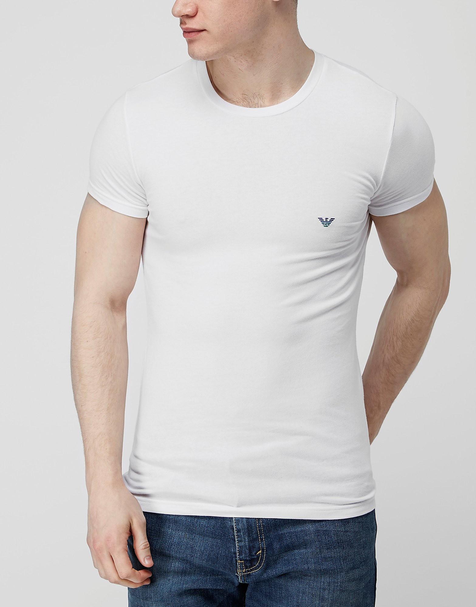 Emporio Armani Back Foil Eagle Logo T-Shirt