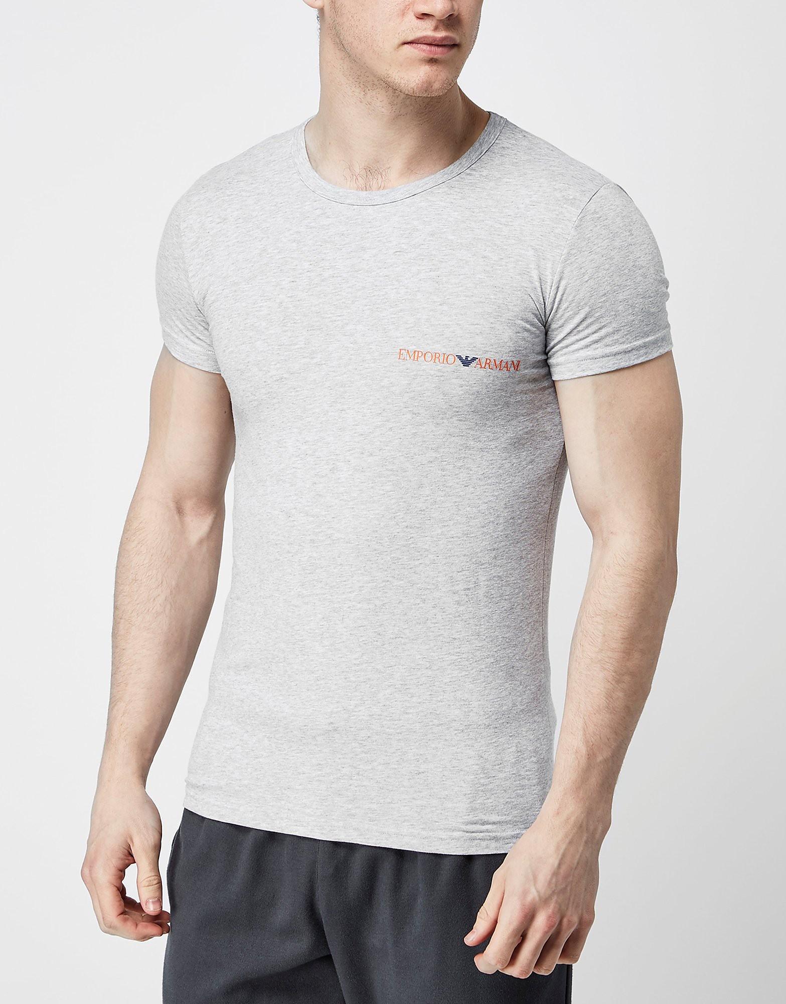 Emporio Armani Rainbow Crew Neck T-Shirt