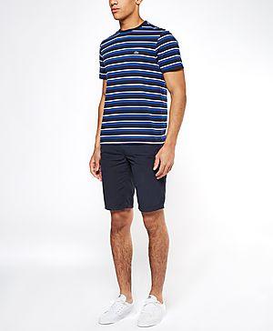 Lacoste Stripe Crew T-Shirt