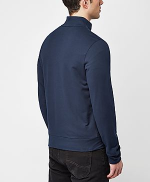 Emporio Armani Full Zip Chest Logo Track Top