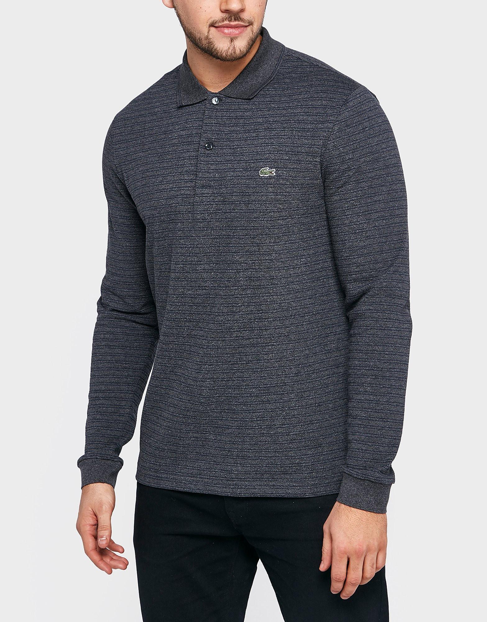 Lacoste Long Sleeve Fine Stripe Shirt