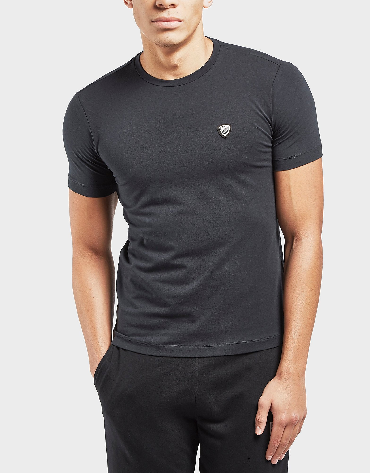 Emporio Armani EA7 Shield Logo Short Sleeve T-Shirt