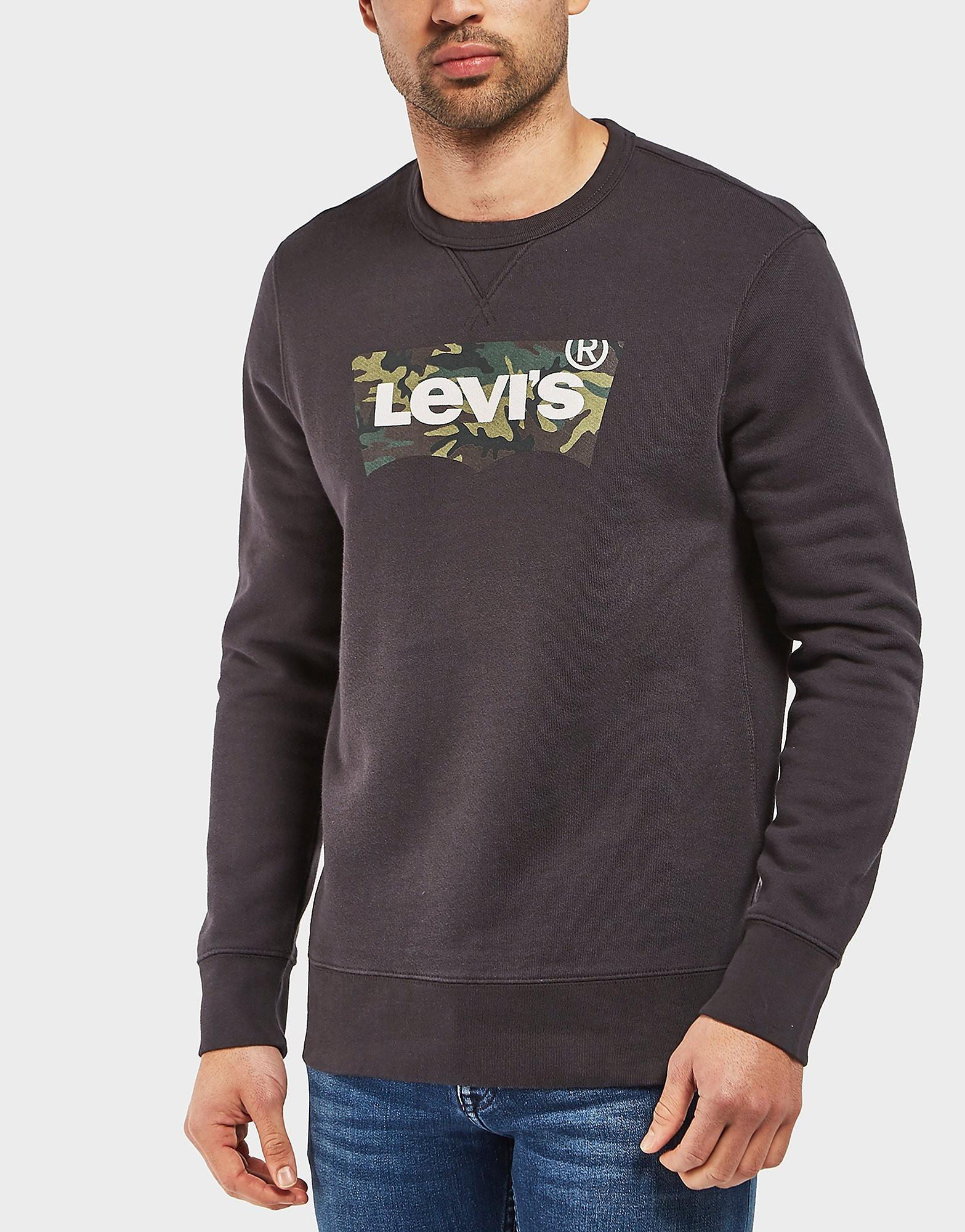 Levis Camo Crew Sweatshirt