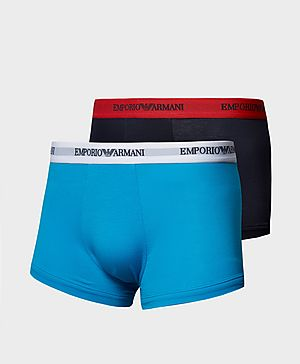 Emporio Armani Two Pack Boxer Shorts