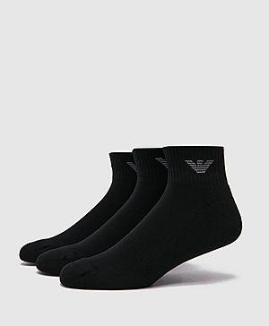 Emporio Armani Eagle Ankle Socks