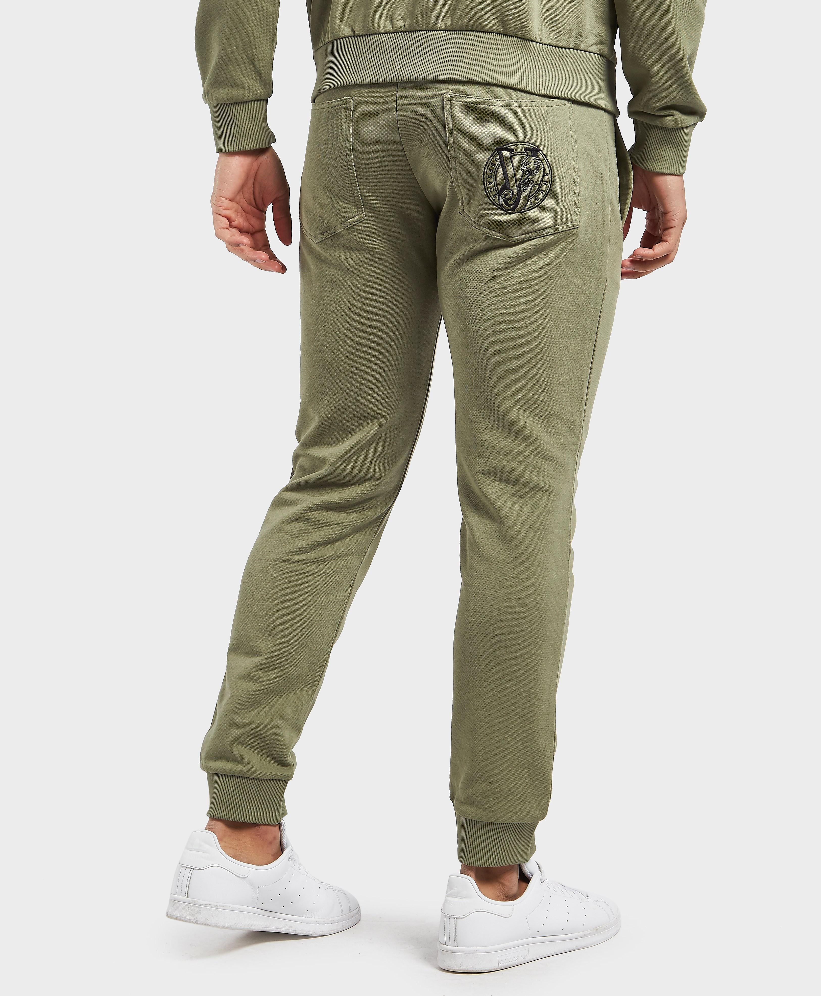 Versace Logo Fleece Track Pants