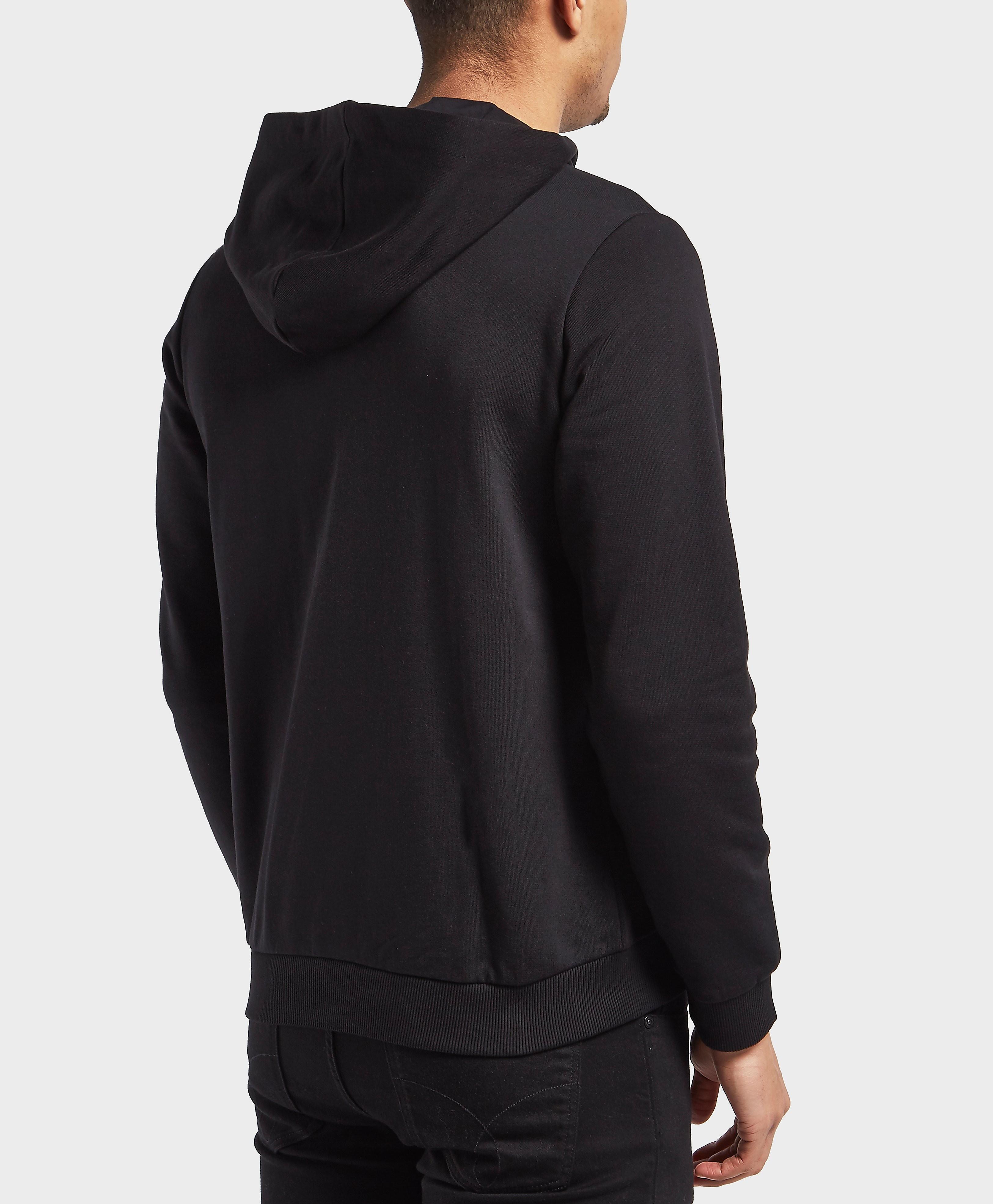 Versace Logo Full Zip Hoody