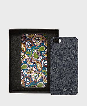 Pretty Green Paisley iPhone Case
