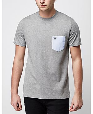 Fred Perry Texture Pique T-Shirt