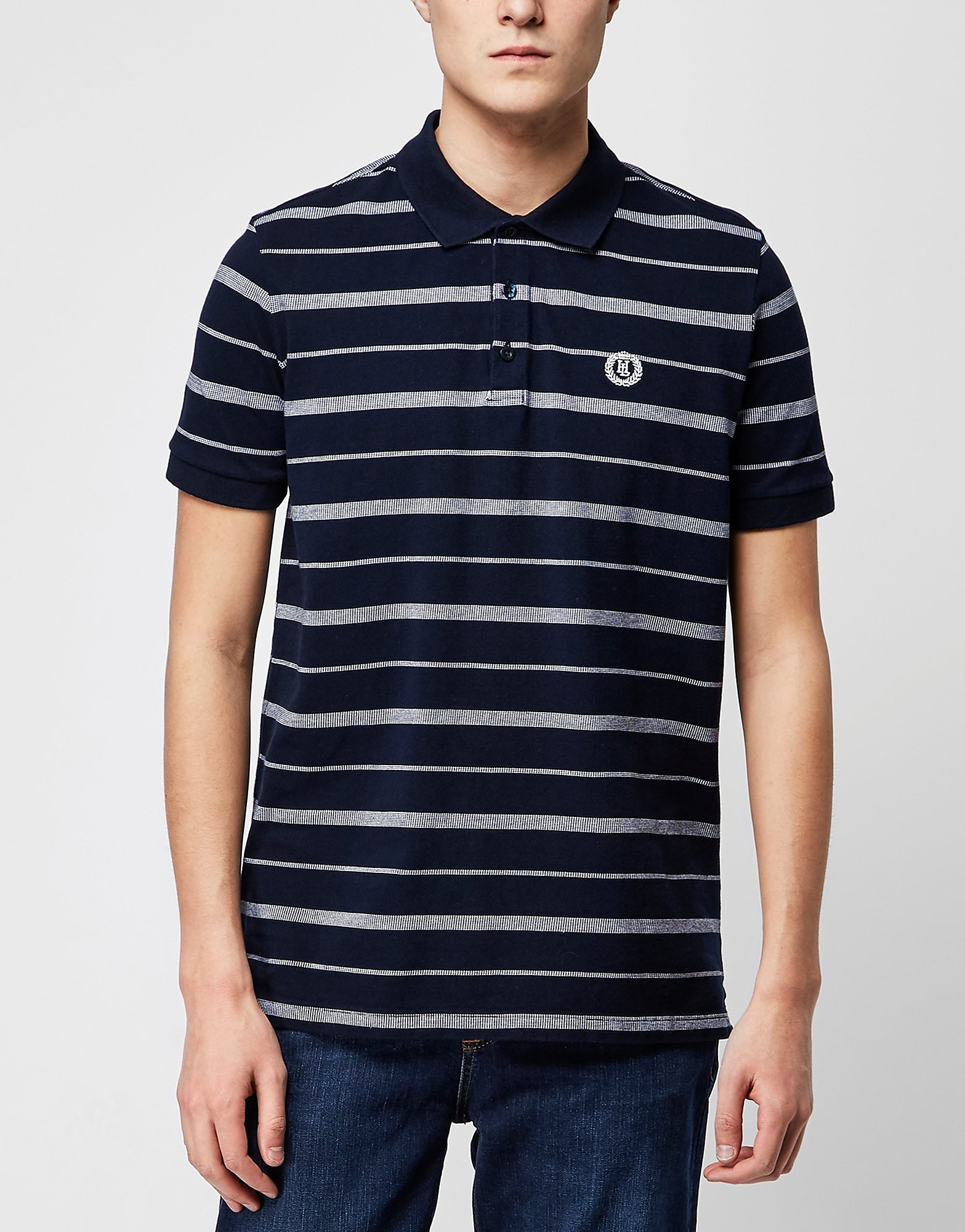 Henri Lloyd Nautique Stripe Polo Shirt  Navy Navy