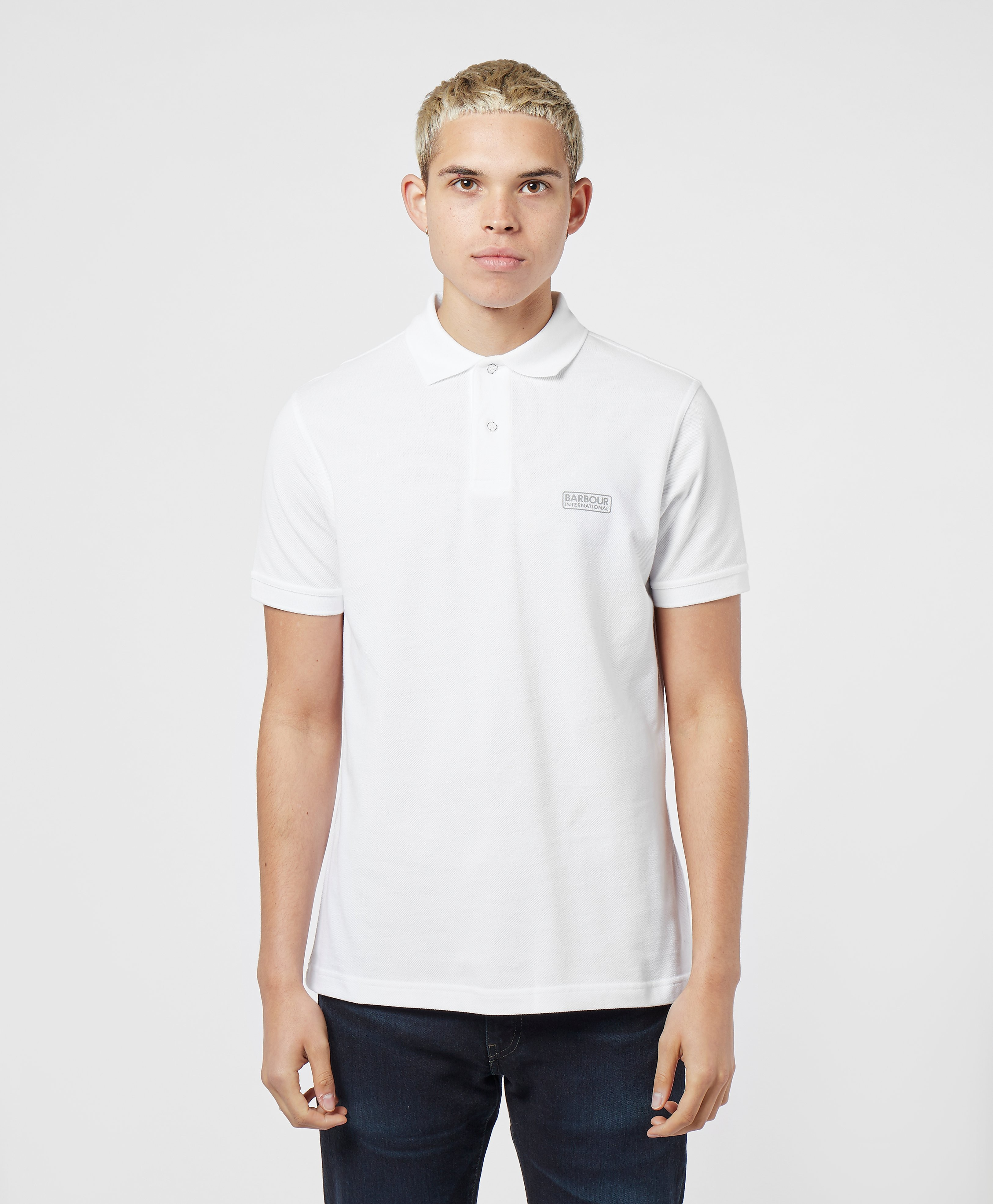 Barbour International Pique Short Sleeve Polo Shirt