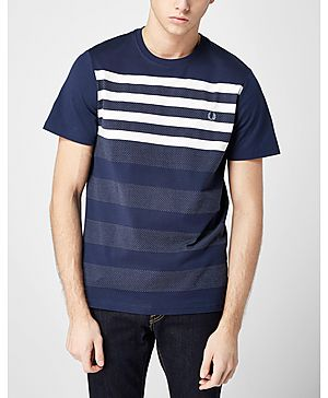 Fred Perry Micro Dot Stripe T-Shirt