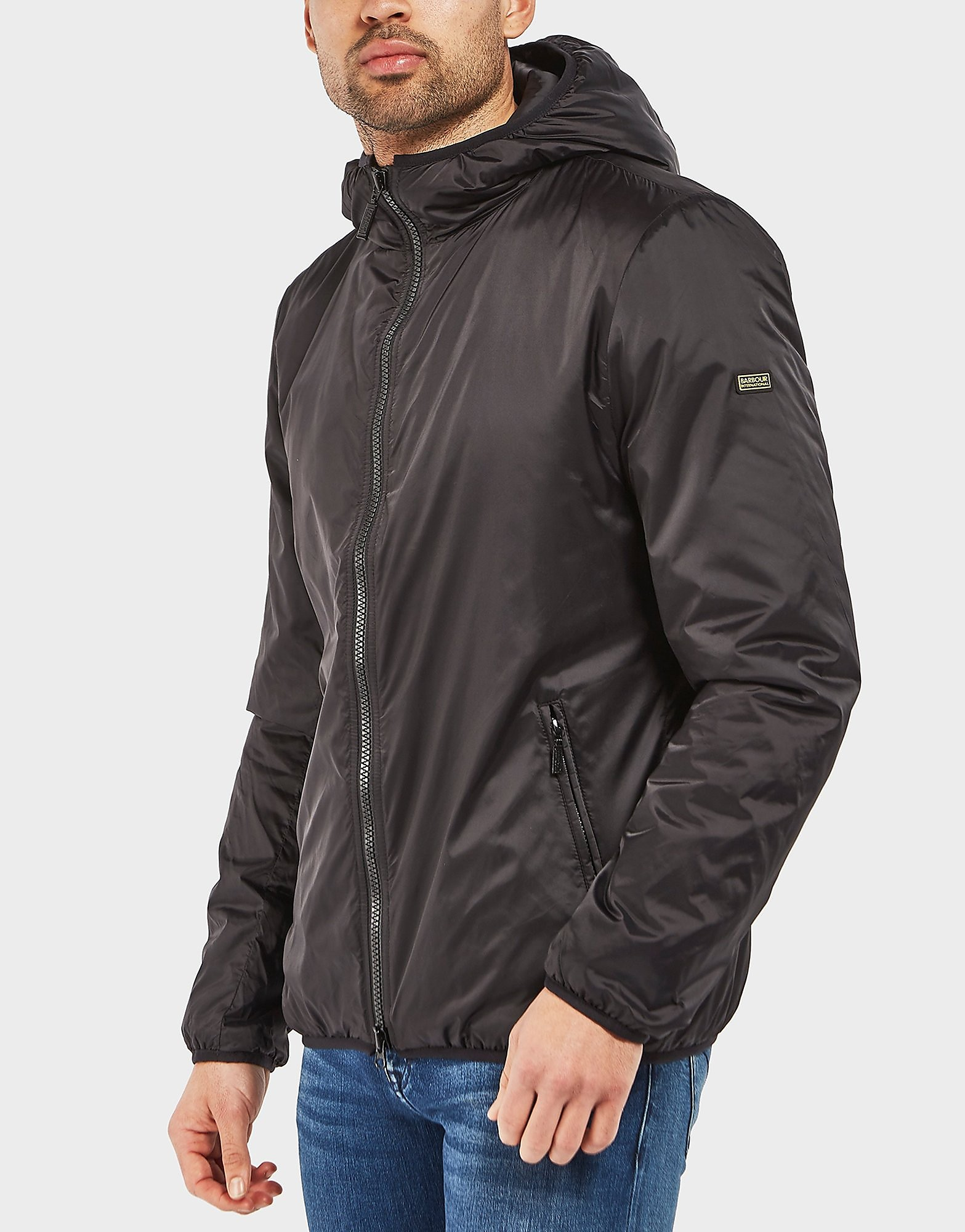Barbour International Draft Quilted Padded Jacket