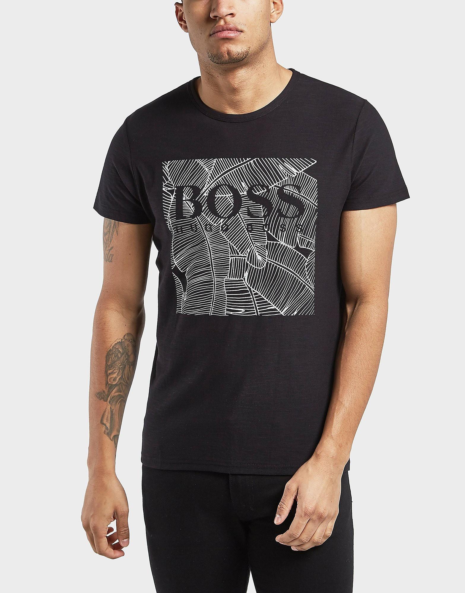 BOSS Orange Tarit1 Palm Short Sleeve T-Shirt